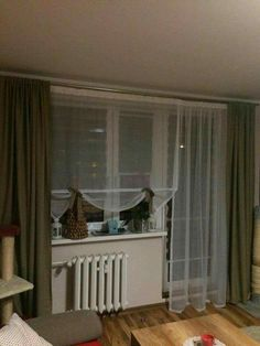 Baby Room, Curtains, House, Design, Home Decor, Houses, Balcony, Living Room Decor, Sheer Curtains