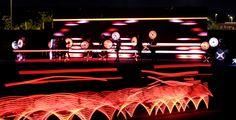 3.000 ciclisti corridori e ballerini diventano sculture LED   The Creators Project