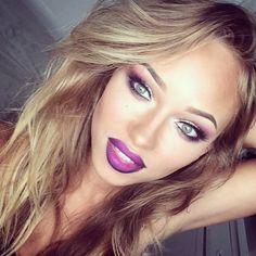 Purple lips!!
