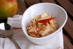 Apfelkuchen-Overnight Oats