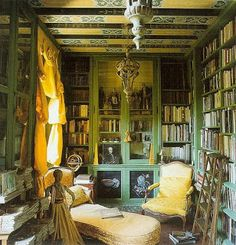 I want a house with a library