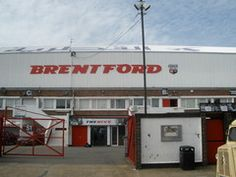 Brentford fc - Griffin Park Brentford Fc, Football, Park, Bees, Alphabet, English, Club, Soccer, Futbol