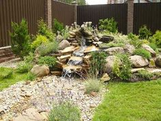 Rock gardens are a fantastic way of adding unique shapes and textures of rocks and garden landscape ideas that give a natural feel to your backyard or front yard decorating Landscaping With Rocks, Backyard Landscaping, Landscaping Ideas, Nice Backyard, Rock Garden Design, Diy Garden Projects, Garden Stones, Rocks Garden, Garden Soil