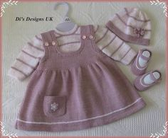 siple baby dresses embellished with embroidery orgu bebek elbiseleri modelleri - PIPicStatsThis Pin was discovered by ElvYou can do this for your baby by examining this wonderful dress.An adorable knit for your litt Knitting For Kids, Crochet For Kids, Crochet Baby, Knitted Baby, Knit Baby Dress, Baby Cardigan, Baby Jumper, Baby Sweater Knitting Pattern, Baby Knitting Patterns
