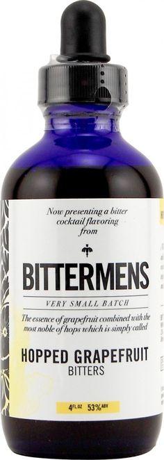 ONLY BITTERS - Bittermens Hopped Grapefruit Bitters 120ml