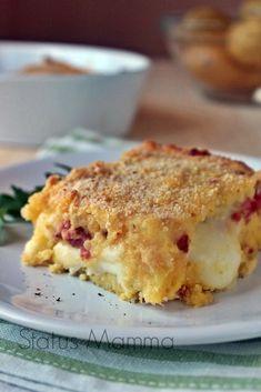 Gattò di patate sformato Statusmamma Giallozafferano Statusmamma blog blogGz salsiccia provolone semplice veloce economico