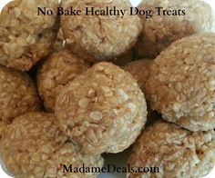 Healthy Dog Treats - No Baking Required - Madame Deals, Inc.