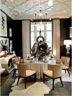 Tiffany Jones Interiors : Design Inspiration :: The Return of the Skirted Table
