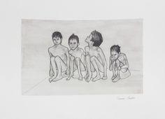 «Miserable IV» de Carmen Ávila Grafito y acuarela / papel - Graphite and watercolor on paper   22.9 x 30.5 cm   2015 www.dasubstanz.com/miserable