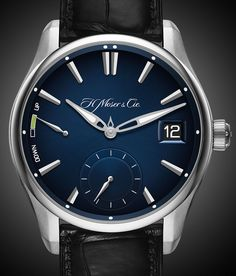 The new H. Moser & Cie. Pioneer Perpetual Calendar watch with images, price, background, specs, & our expert analysis.
