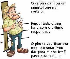 100% Jesus Cristo: Smartphone do caipira...