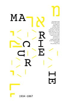 Typogrphy - Posters by Yaara Agnon, via Behance