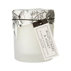 Hey, I found this really awesome Etsy listing at http://www.etsy.com/listing/112986836/wild-flowers-honey-candle-in-frosted