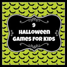 The Thriftiness Miss: Halloween Party Games for Kids