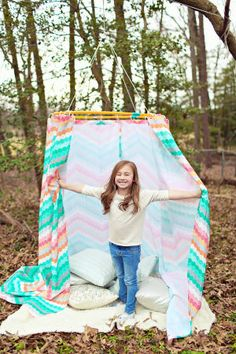 The DIY Adventures of the Pin Sisters: Hula hoop tent - Capital Style Magazine - Capital Gazette Communications