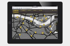 London Typographica – Creating the typographic map of London | Smartphone App / Website