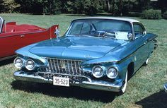 1961 Plymouth. The car I drove to Woodstock, but a 4-door.  It had a push-button transmission and a ribbon speedometer.  A real cruiser!