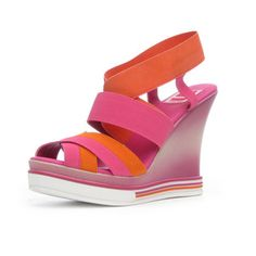PS Luca Wedge Orange now featured on Fab.