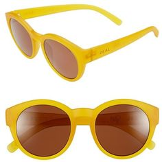 Zeal Optics 49mm Biodegradable Plant Based Round Sunglasses (1.485 NOK) ❤ liked on Polyvore featuring accessories, eyewear, sunglasses, glasses, fleetwood rye honey, zeal optics sunglasses, round frame glasses, round lens sunglasses, zeal optics and round frame sunglasses
