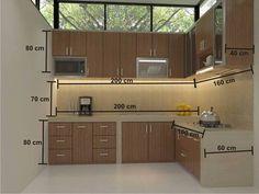 Mesures standards pour cuisine - cocina , kitchen, Küche, Cucina, Keuken
