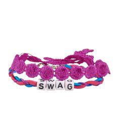 Kids' Swag Bracelet 2-Pack