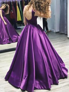 01b3836ad97 Little Star Womens Prom Dresses 2017 Long Sexy Backless A Line Ball Gown  Satin Evening Gown Burgundy Party Dresses     Be sure to check out this  awesome ...