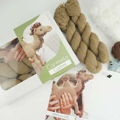 180702_Carmelo_1500x1500px Alpaca, Baby Kind, Gingerbread Cookies, Kit, Amigurumi, Baby Knitting, Wardrobe Closet, Threading, Children