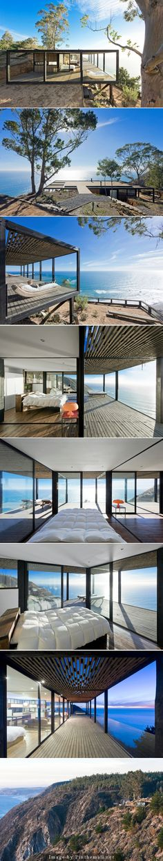 Casa Till, a new private home by WMR Arquitectos. http://www.knstrct.com/architecture-blog/2014/4/13/casa-till-by-wmr-arquitectos - created via http://pinthemall.net