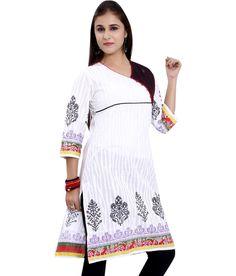 Loved it: Meenakshi Designers Multicolor Printed Medium Cotton Kurti, http://www.snapdeal.com/product/meenakshi-designers-multicolor-printed-medium/380570283