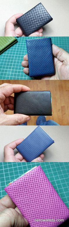 Limited Edition NERO Wallet BLU Marino Nappa by NeroWallet