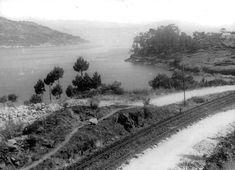 Faro de Vigo - 1. Vista del estrecho de Rande sin el puente (1971)