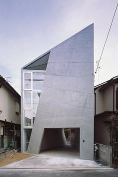 House Folded by Alphaville Architects  Osaka 01