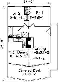 87 best vacation home plans images floor plans home plants house 2 Story Entrance large covered wrap around deck on this 2 bedroom vacation getaway home house plan