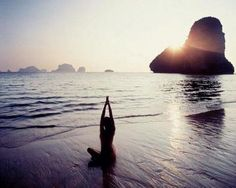 sunset yogi #planetblue