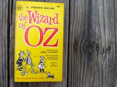 The Wizard of Oz by L. Frank Baum vintage by OatesGeneral on Etsy