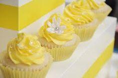Αποτέλεσμα εικόνας για yellow cup cakes