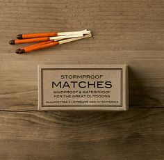 RESTORATION HARDWARE : Stormproof Matches | Sumally