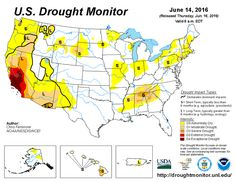 Drought Monitor Animation Last 6 Weeks - Drought Map Lighting Up