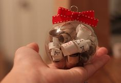 Wedding Invitation Ornament for first married Christmas.... This is not our first but I just made one of these! I keep everything... what a great way to keepsake