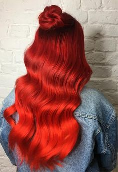 straight red hair wig black to red hair red hair lady dark brown with red highlights dark and lovely red hot rhythm long auburn hair rich red hair col. Hair Tips Dyed Red, Dyed Tips, Dyed Hair Pastel, Dye Hair, Red Ombre, Ombre Hair Color, Hair Colors, Straight Red Hair, Cheveux Oranges