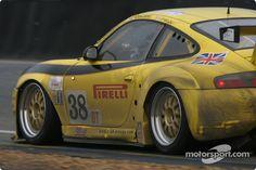 Porsche at Le Mans 2003 after a long night