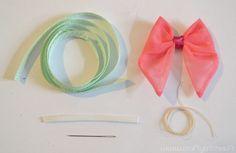 Valentine's DIY : Headband très girly (mini-tuto)