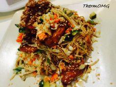 Teriyaki Chicken Noodle Salad — ThermOMG