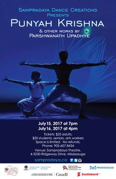"""Coming This Summer - Punyah Krishna - July 15 &16   Home Season Production2017  Joinus this summer for Punyah Krishna.  Seating is limited. Tickets cannot be held or reserved without payment.General Seating. No refunds.    Community News  Cow Over Moon Theatre  Cow Over Moon is pleased to announce thatthey will be contributing to the celebration of Canada's 150th  birthday with their 2017 production of """"Here We Are"""" based on the Ojibway creation story of Turtle Island.  Public Performance…"""
