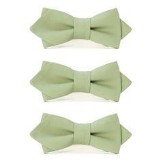 グルームズマン・ブロード・ボウタイ #Groomsmen #Bowtie #Gift #Green