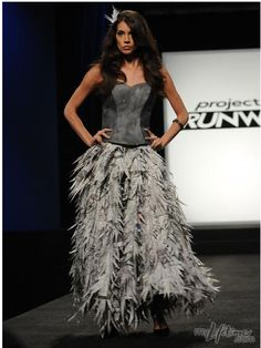 project runway... trashion of course!