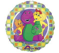 Mylar Balloons, Barney & Friends, Birthday Balloons, Get Well, Christianity, Purple, Cutting Files, Ribbon, Band