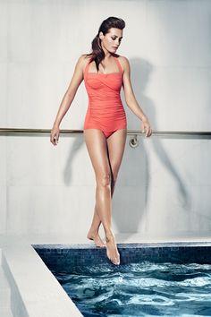 SPEEDO SCULPTURE Lunadream Swimming Costume Swimsuit Women Size 12 34 NEW TAGS