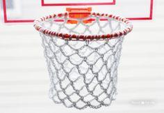 Crochet Basketball Hoop Net. Free Pattern!