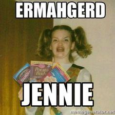 14 Best Jennie Memes Images In 2015 Jokes Fun Things Funny Memes